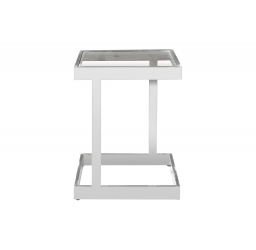 Hardware Lowe Square Side Table