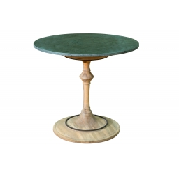 Popular marble top wood base