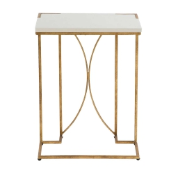 Amber C Table – Gold (G)